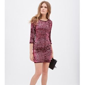 Forever 21 Sequined Sheath Dress